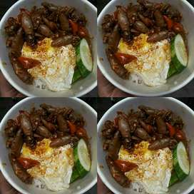 Ricebowl utk acara penting dapat 2 lauk lezat