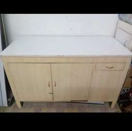 Doctor Examination Table with Cabinets