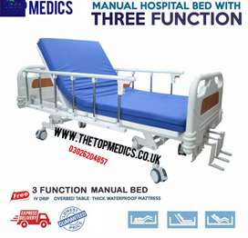 Hospital Bed 3 functions ICU Home use Bed Good Quality