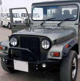 Modified mahindra turbo jeep