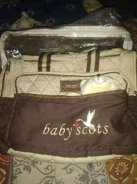tas baby scotts dan prlngkapan lain nya