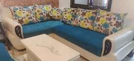 Sofa Set + Centre Table