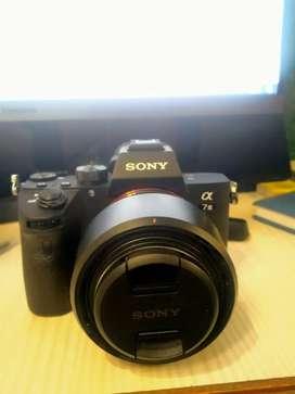Sony a7iii +50mm lense