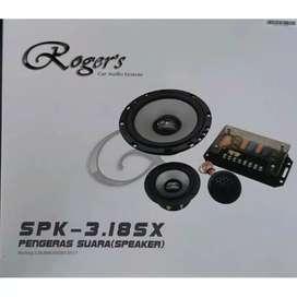 Speaker Split Component 3 Way Three Way ROGERS