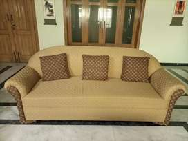 Good solid made 7 seater sofa