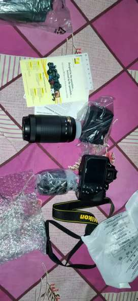 Nikon d3500 with dual lens ..showroom condition hoi axee..6month old