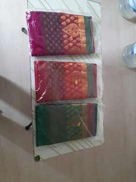 Colourful sarees..