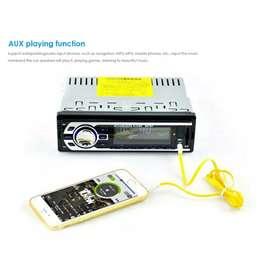 AMPrime Tape Audio Mobil Multifungsi Bluetooth USB MP3 FM Radio Black