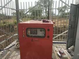 Technician generator set.