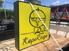 Neon Box Free Design Neonbox Acrylic Backlite Melayani Seluruh Bali