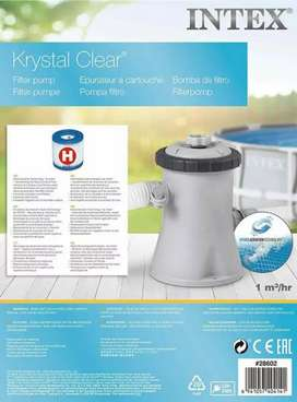 INTEX 28602 water filter cartridge (H) for above ground swimming pools