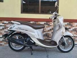 Yamaha fino 125 thn 2017 pjk B DKI motor mulus ful orsinil siap pakek