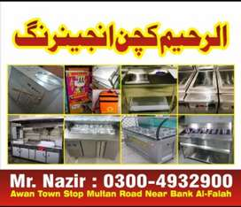 Piza oven, Doh mixer, Fryer, hot Plate etc available