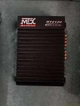 Mtx two channel amplifier