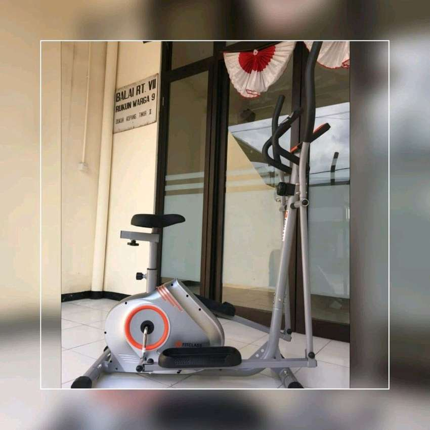 Sepeda Statis Elliptical Bike // Coumpour Gym 16.46 0