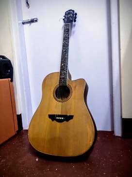 Gb and a acoustic guitar
