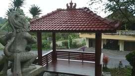 Jual Gazebo cocok untuk Villa,Taman,tmpt wisata dll