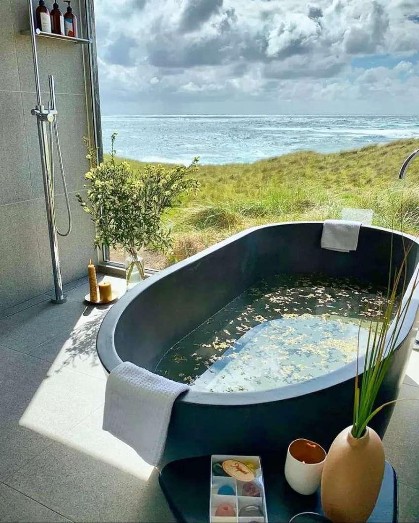Bathtub Mewah Manna Klasik I Terrazzo