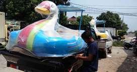 sepeda air bebek jumbo,bebek air kecil,wahana air murah ready stok