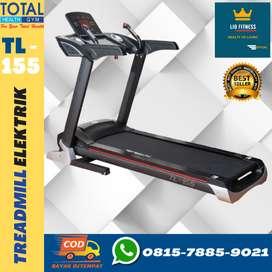 TREADMILL ELEKTRIK TL-155 3.5HP ALAT FITNESS  MURAH I COD JAKARTA