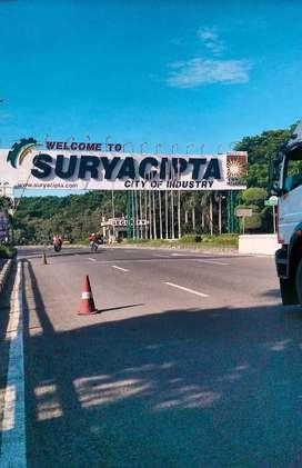 Dijual Murah Tanah Kawasan Industri Surya Cipta, Karawang, Jawa Barat