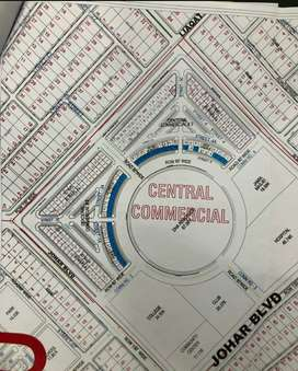 DHA offering new 4 Marla commercial plot facing round