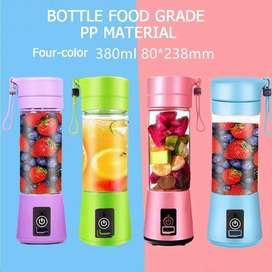 The portable juice blender bottle lightweight and convenient to carry