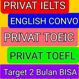 Les Privat Bahasa Inggris IELTS TOEFL TOEIC Conversation Cimahi