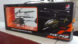 Brand new remote controlled chargeable helicopter .