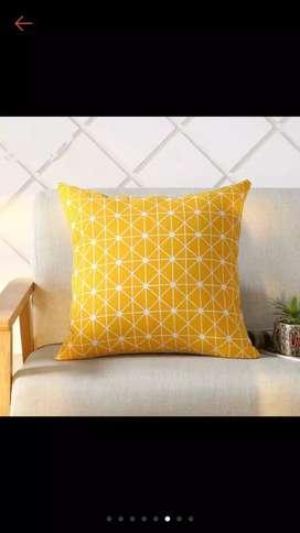Sarung bantal sofa bahan tebal