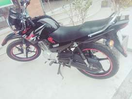 Yamaha YBR 125g black color