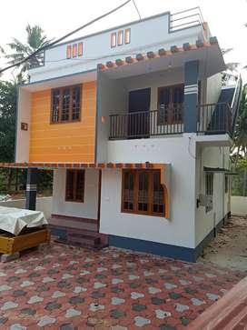 4CENT  NEW 3bhk HOUSE chenkottukonam sreekaryam