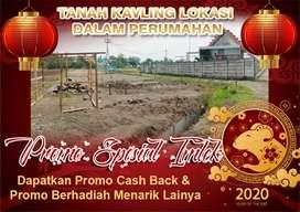 Tanah Kavling Lokasi Dalam Perumahan Promo Spesial Imlek
