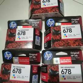 Tinta Ink HP 678 Tri color Cartridge Original