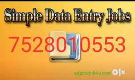 Urgent opening in home based job apply now