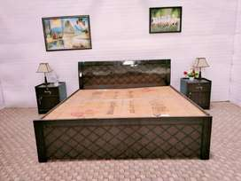 Double bed with box at wholesale prise