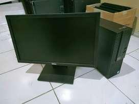 Dell optiplex 3050 i5 gen 6 ddr4 8gb hdd 500gb monitor 20 inc
