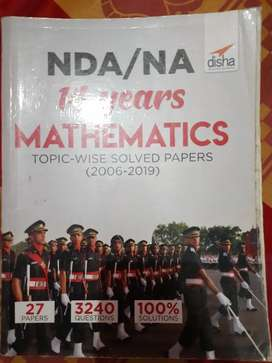 Disha publications NDA past topicwise 14 years papers