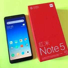 Xiaomi Redmi Note 5 4/64 Fullset mulus