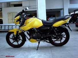 Apache 180CC Yellow Color