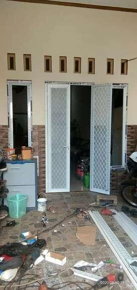 Pintu anti nyamuk almini, pintu expanda kasa nyamuk, pintu anti nyamuk