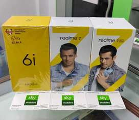 Sky mobiles Realme 7 mobile 6gb ram 64gb ROM memory sealed