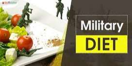 If You want  to know Army  diet plan