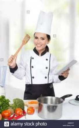Urgently required Female Cook/Maid