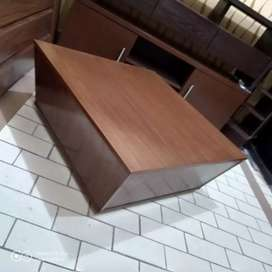 Wooden Tv consoles, center table