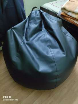 High Quality Leather Bean Bag XXXL with Beans