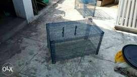 Black Metal Pet Cage