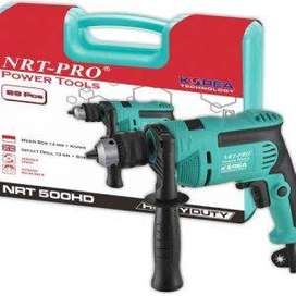 NORITA HD 500 SET 28 pcs Mesin Bor Listrik Tembok Beton 13mm NRT PRO