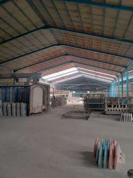 Di jual Bangunan dan Tanah Eks Pabrik Closed di Jetis Mojokerto jatim