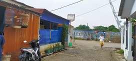 Dijual tanah dan Bangunan dipinggir Jalan Juanda Depok.